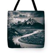 Snake River In The Tetons - 1930s Tote Bag