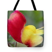 Snapdragon Named Floral Showers Red And Yellow Bicolour Tote Bag