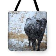 Snow Angus Tote Bag