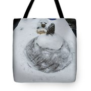 Snow Fall Serie December 2012  Tote Bag