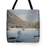 Snowed Under Tote Bag