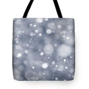 Snowfall  Tote Bag by Elena Elisseeva