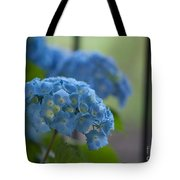 Soft Blue Hydrangea Tote Bag