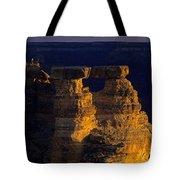 South Rim Grand Canyon Taken Near Mather Point Sunrise Light On  Tote Bag