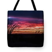 Southwest Sunset Tote Bag
