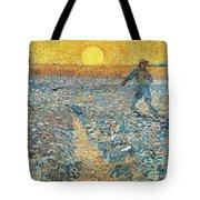 Sower Tote Bag by Vincent van Gogh
