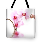 Spa Flowers Tote Bag