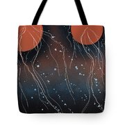 Space Jellies Tote Bag