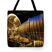 Space Rocket Thrust Engine Tote Bag