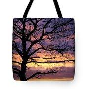 Spectacular Sunset Epsom Downs Surrey Uk Tote Bag
