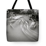 Swirling Motion Tote Bag
