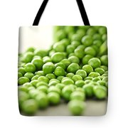 Spilled Bowl Of Green Peas Tote Bag
