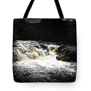 Splashing Australian Water Stream Or Waterfall Tote Bag
