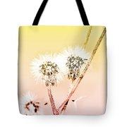 Spring Dandelion Tote Bag