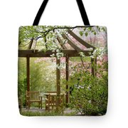 Spring Seating Tote Bag