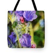 Spring Wild Flower Tote Bag