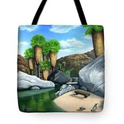Springtime In The Canyons Tote Bag