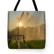 Sprinkler Irrigation Tote Bag
