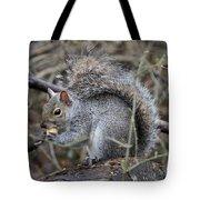 Squirrel With Peanut Tote Bag