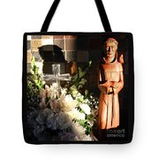 St. Francis Of Assisi By George Wood Tote Bag