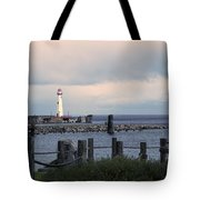 St. Ignace Light Tote Bag