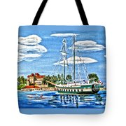 St Lawrence Waterway 1000 Islands Tote Bag