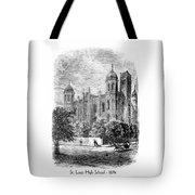 St. Louis High School - 1874 Tote Bag