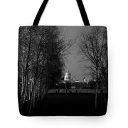 St Paul's With Silver Birches Tote Bag