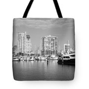 St Petersburg Yacht Basin Tote Bag