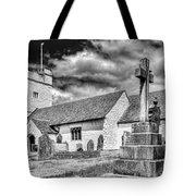 St Sannans Church Bedwellty 2 Mono Tote Bag