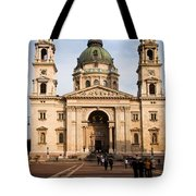 St Stephen's Basilica In Budapest Tote Bag
