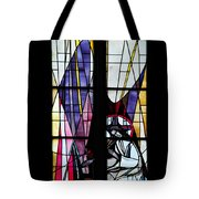 Stained Glass Window Tote Bag