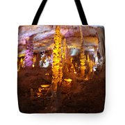Stalactite Cave Tote Bag