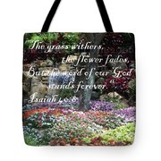 Stands Forever Tote Bag