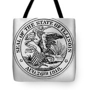 State Seal Illinois Tote Bag