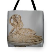 Statue In The Temple Of Good Will Tote Bag