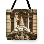 Statue Of Queen Victoria At Town Hall Of Sydney Australia Tote Bag