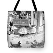Steam Carriage, 1832 Tote Bag