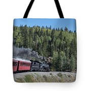 Steam Engine 488 At Osier On The Cumbres And Toltec Scenic Railroad Tote Bag