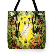 Steppin Out Tote Bag by Adele Moscaritolo