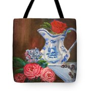Rose And Pitcher Jenny Lee Discount Tote Bag