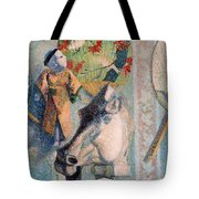 Still Life With Horse's Head Tote Bag
