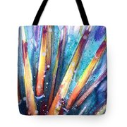 Spine Of Urchin Tote Bag by Ashley Kujan