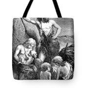 Stone Age Family Tote Bag