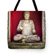 Stone Statue Of Buddha In Bali Indonesia Tote Bag
