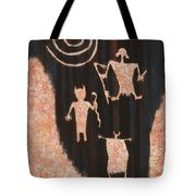 Stories In Stone Tote Bag