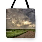 Storm Clouds Prairie Sky Saskatchewan Tote Bag