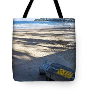 Storm Drainage Pipe On Manly Beach Tote Bag