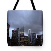 Stormy Singapore Tote Bag