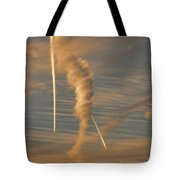 Strange Skies Tote Bag